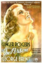 In Person 1935 DVD - Ginger Rogers / George Brent